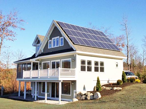 Residentiële zonne-energie
